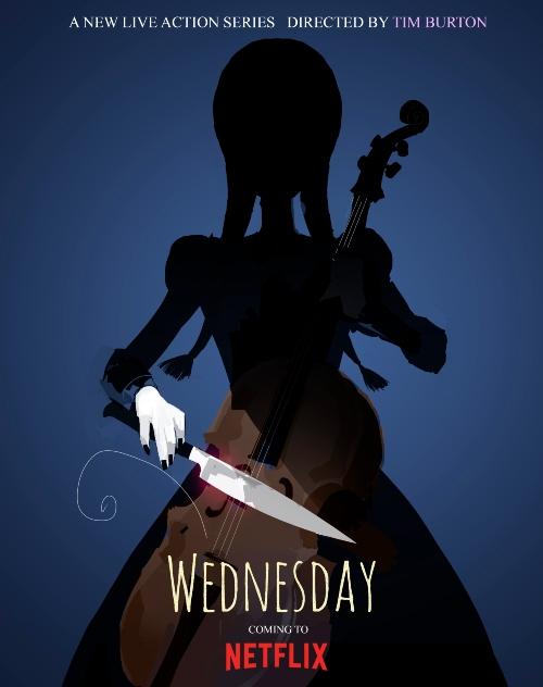tim burton Wednesday