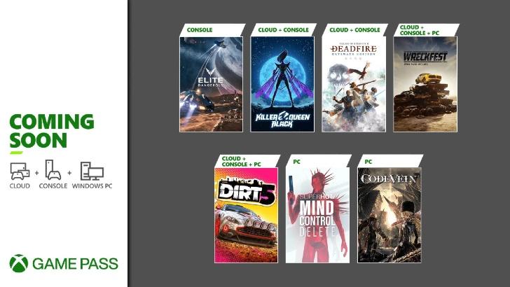 Xbox Game Pass – Fim Fevereiro 2021