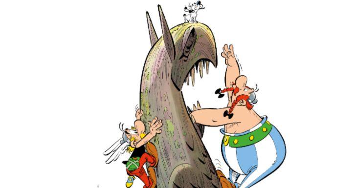 Título de àlbúm Asterix e o Grifo