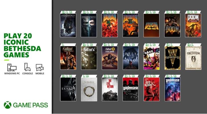Xbox Game Pass Bethesda – Março 2021