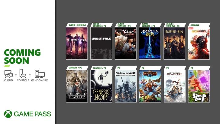 Xbox Game Pass – Fim Março 2021