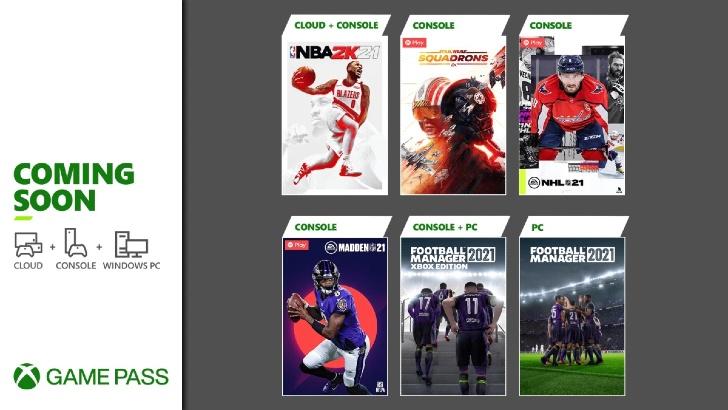 Xbox Game Pass – Início Março 2021
