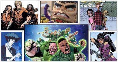 Calendario BD TV comic books