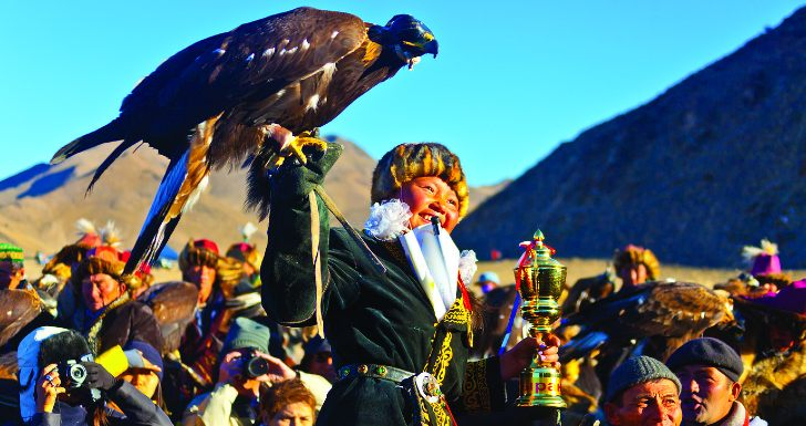 A Caçadora com Águia