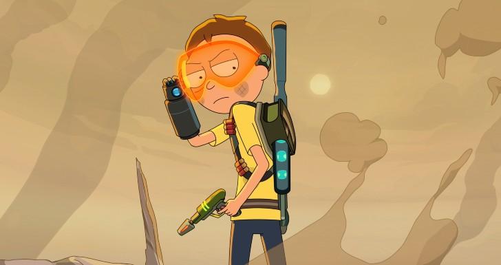 Rick and Morty mapa das séries estreias junho 2021