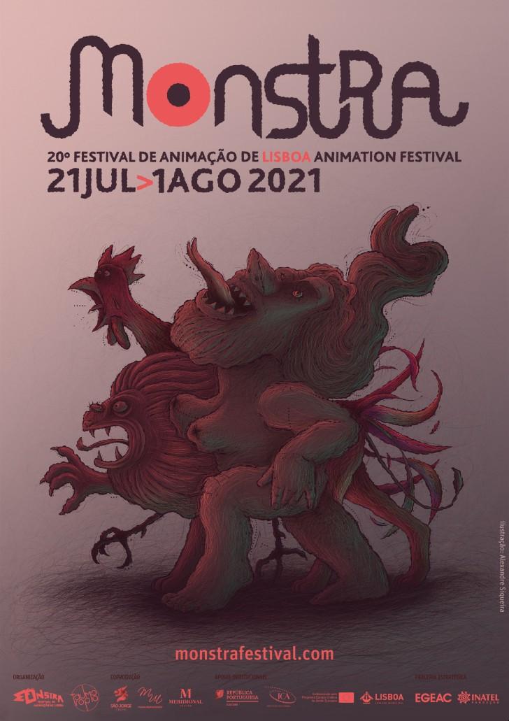 Cartaz Monstra 2021